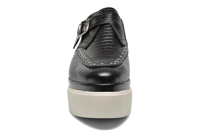 Mocassins Ash Konnie Noir vue portées chaussures