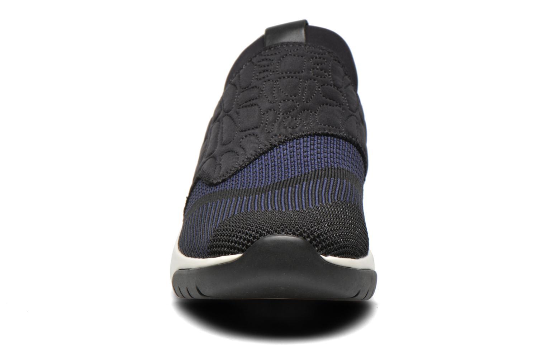 Baskets Ash Soda Bleu vue portées chaussures
