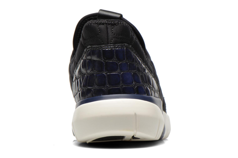 Baskets Ash Soda Bleu vue droite