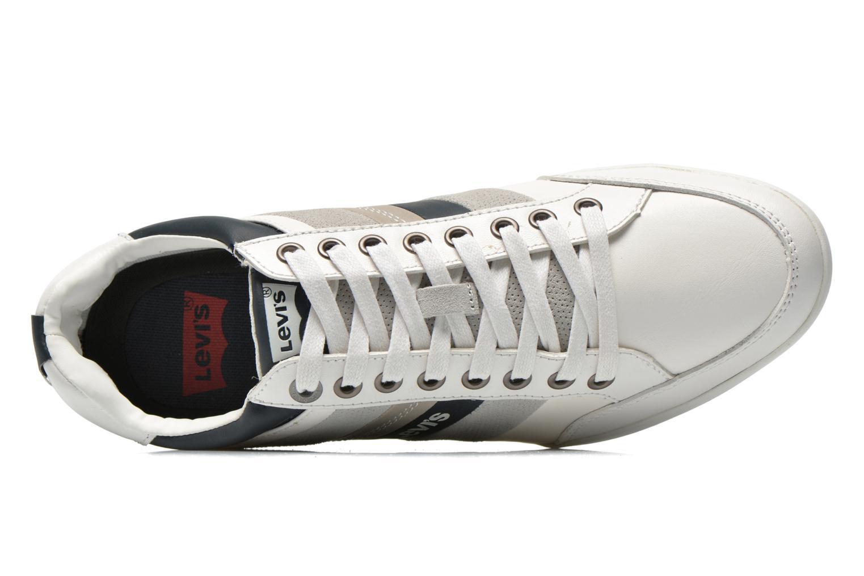 Sneaker Levi's Turlock Refresh weiß ansicht von links