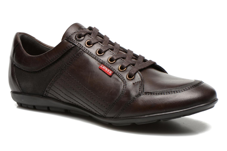 Levi's Levi's toulon Marron - Chaussures Basket Homme
