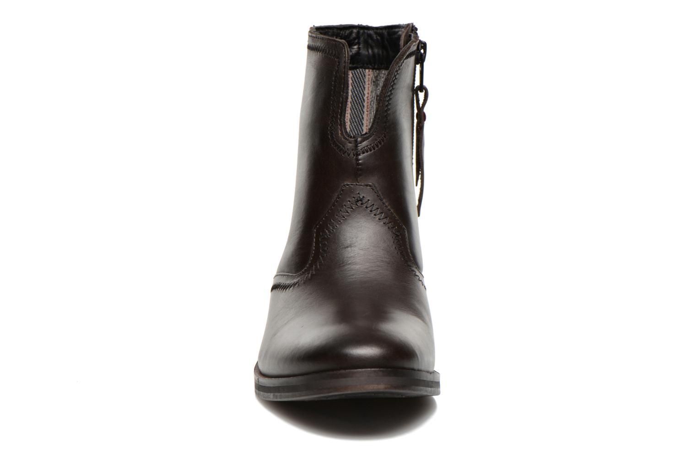 Stiefeletten & Boots Levi's Charlotte Cowboy grau schuhe getragen