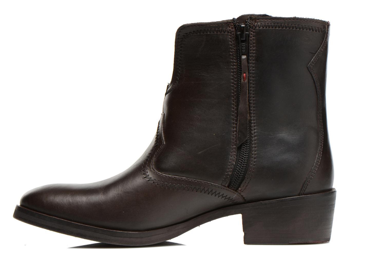 Stiefeletten & Boots Levi's Charlotte Cowboy grau ansicht von vorne