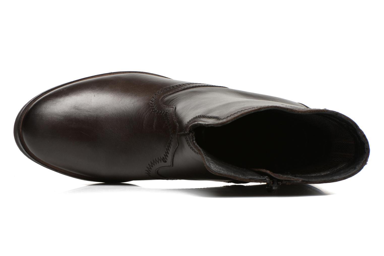 Bottines et boots Levi's Charlotte Cowboy Gris vue gauche