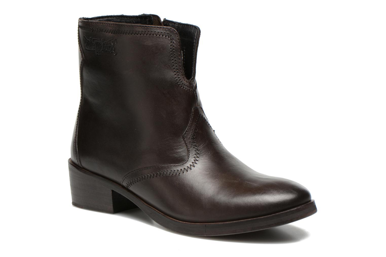 Stiefeletten & Boots Levi's Charlotte Cowboy grau detaillierte ansicht/modell