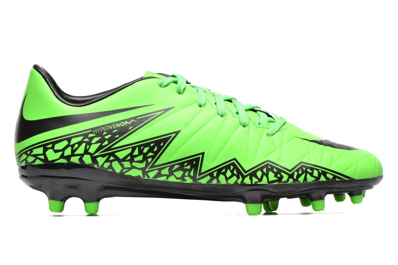 Zapatillas de deporte Nike Hypervenom Phelon II Fg Verde vistra trasera