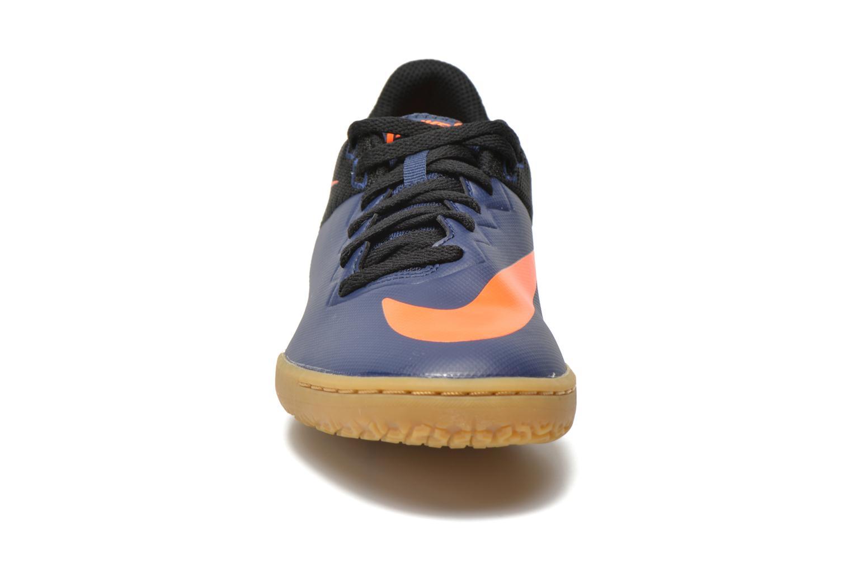 Chaussures de sport Nike Hypervenomx Pro Ic Bleu vue portées chaussures