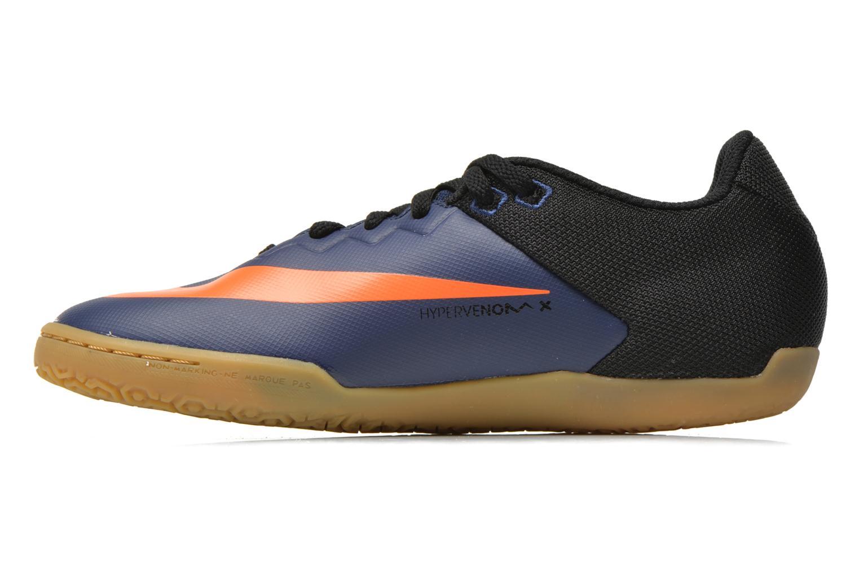 Chaussures de sport Nike Hypervenomx Pro Ic Bleu vue face