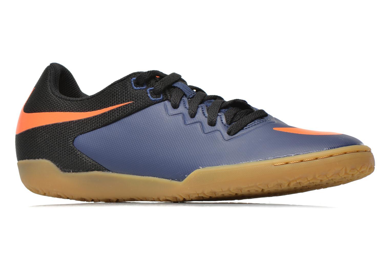 Chaussures de sport Nike Hypervenomx Pro Ic Bleu vue derrière