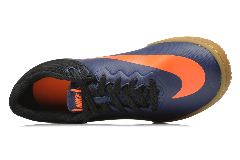 Chaussures de sport Nike Hypervenomx Pro Ic Bleu vue gauche