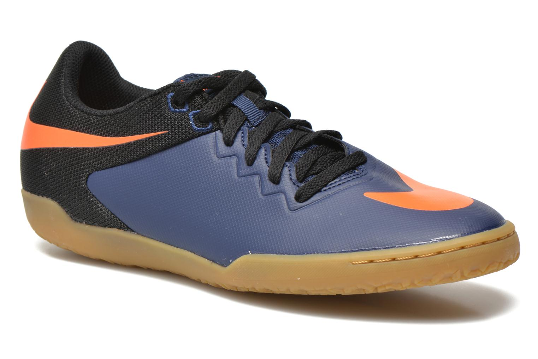 Chaussures de sport Nike Hypervenomx Pro Ic Bleu vue détail/paire