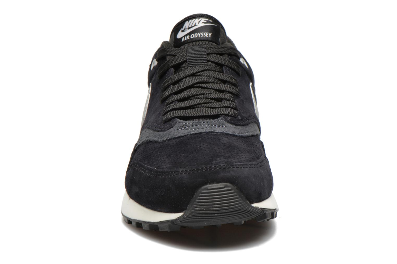 Sneaker Nike Nike Air Odyssey Ltr schwarz schuhe getragen