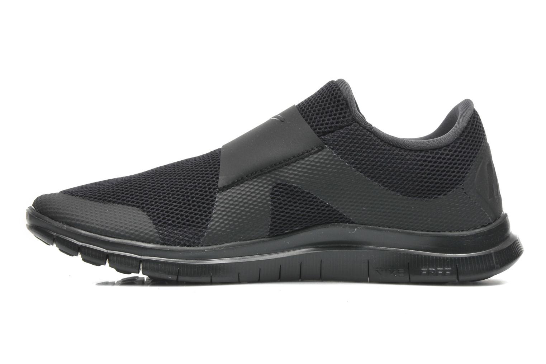 Sneaker Nike Nike Free Socfly schwarz ansicht von vorne