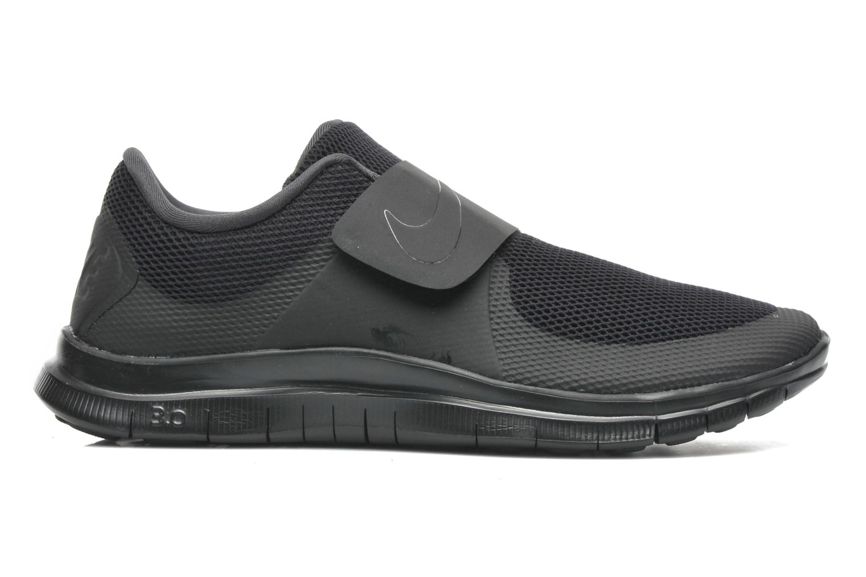 Sneaker Nike Nike Free Socfly schwarz ansicht von hinten
