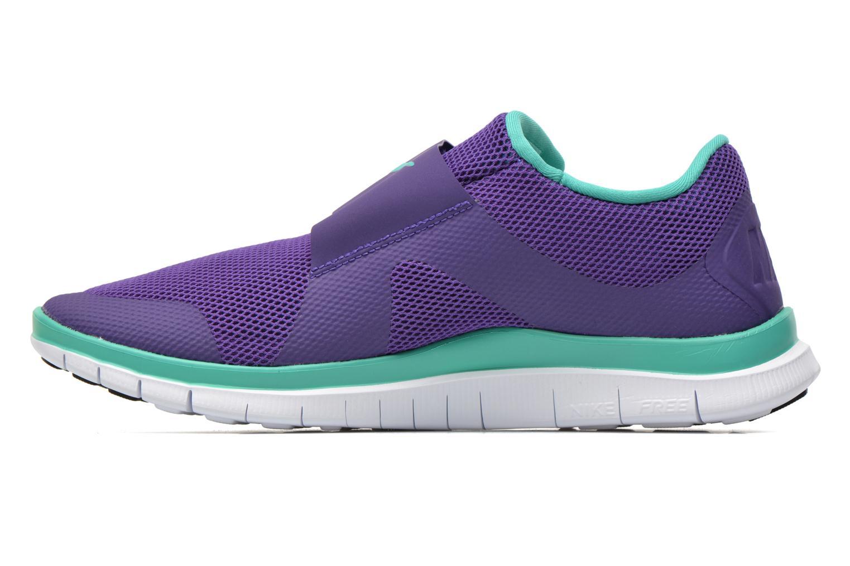 Sneakers Nike Nike Free Socfly Paars voorkant