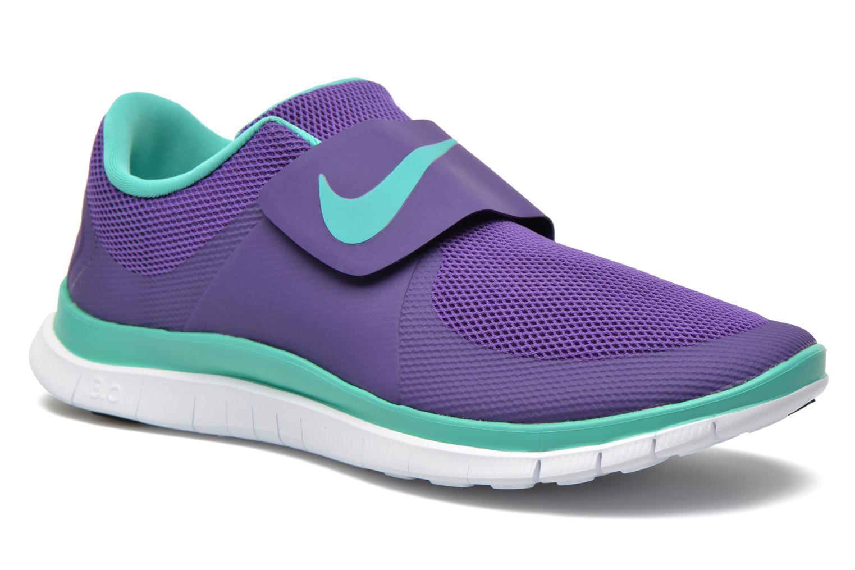 Baskets Nike Nike Free Socfly Violet vue détail/paire