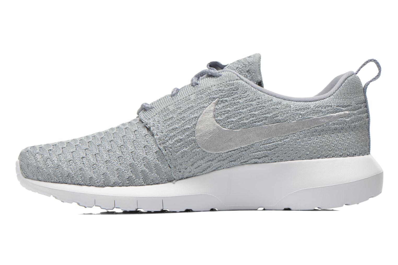 Nike Roshe Nm Flyknit Wolf Grey/Wolf Grey-White