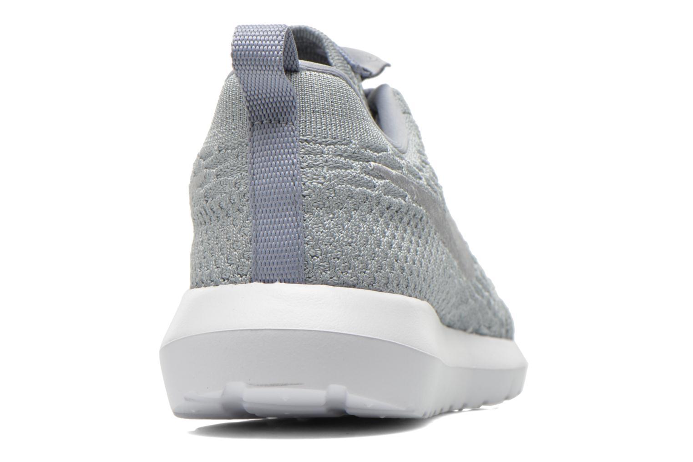 Baskets Nike Nike Roshe Nm Flyknit Gris vue droite