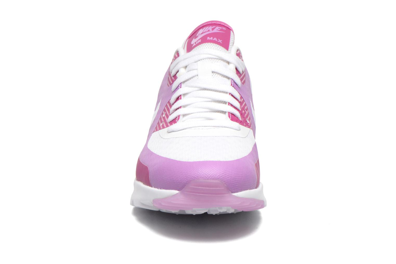 Baskets Nike W Air Max 90 Ultra Br Violet vue portées chaussures