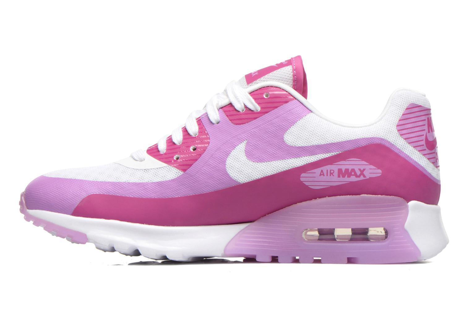 Baskets Nike W Air Max 90 Ultra Br Violet vue face