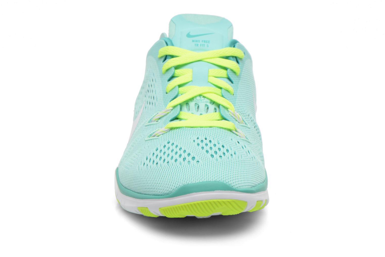 Chaussures de sport Nike W Nike Free 5.0 Tr Fit 5 Brthe Vert vue portées chaussures