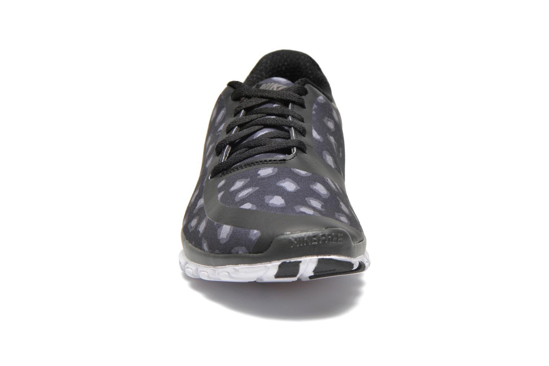 Chaussures de sport Nike W Nk Free 5.0 V4 Ns Pt Noir vue portées chaussures