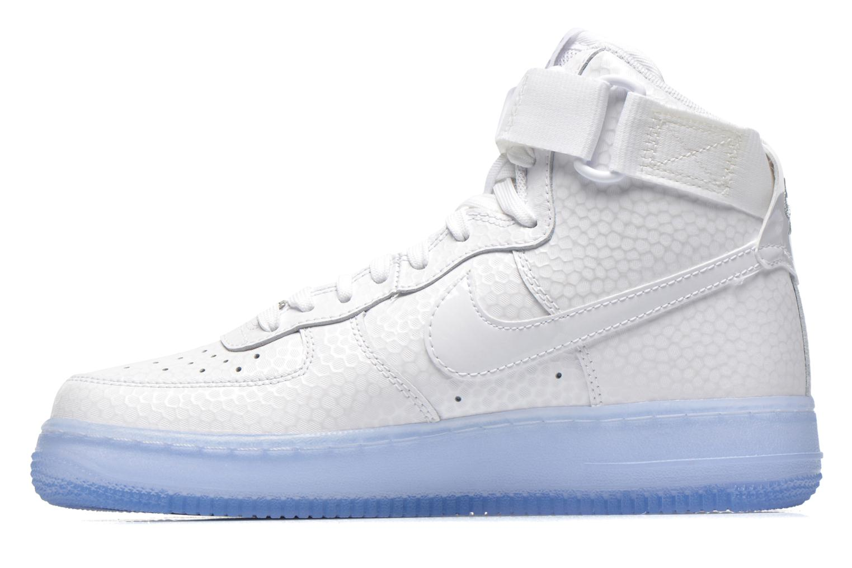 Deportivas Nike Wmns Air Force 1 Hi Prm Blanco vista de frente