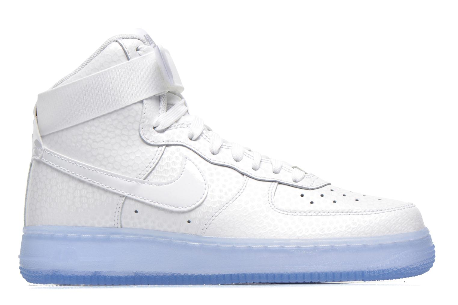 Trainers Nike Wmns Air Force 1 Hi Prm White back view