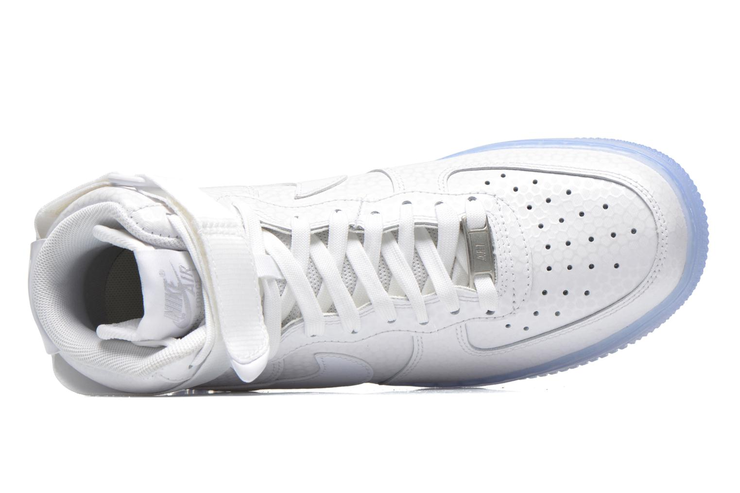 Trainers Nike Wmns Air Force 1 Hi Prm White view from the left