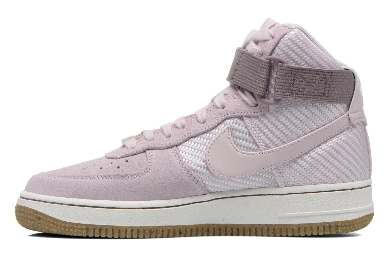 Baskets Nike Wmns Air Force 1 Hi Prm Violet vue face