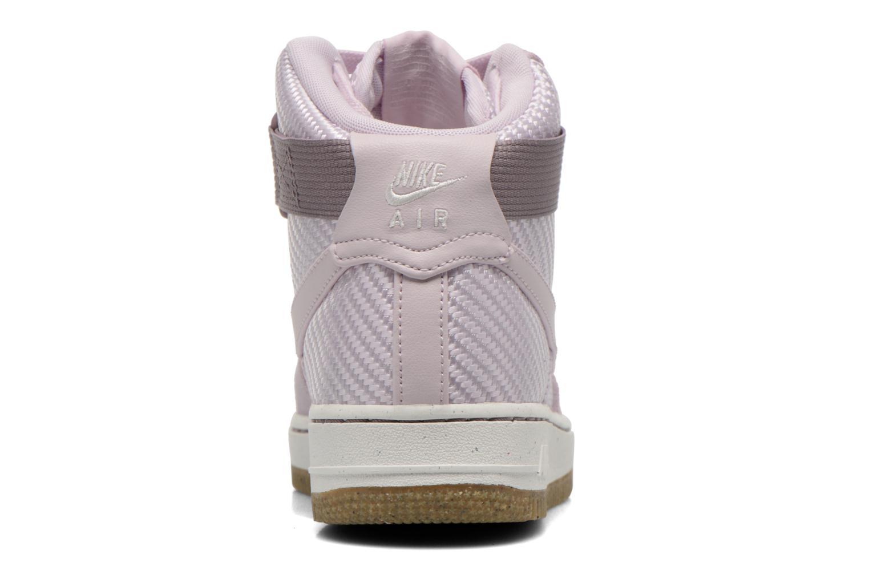 Deportivas Nike Wmns Air Force 1 Hi Prm Violeta      vista lateral derecha