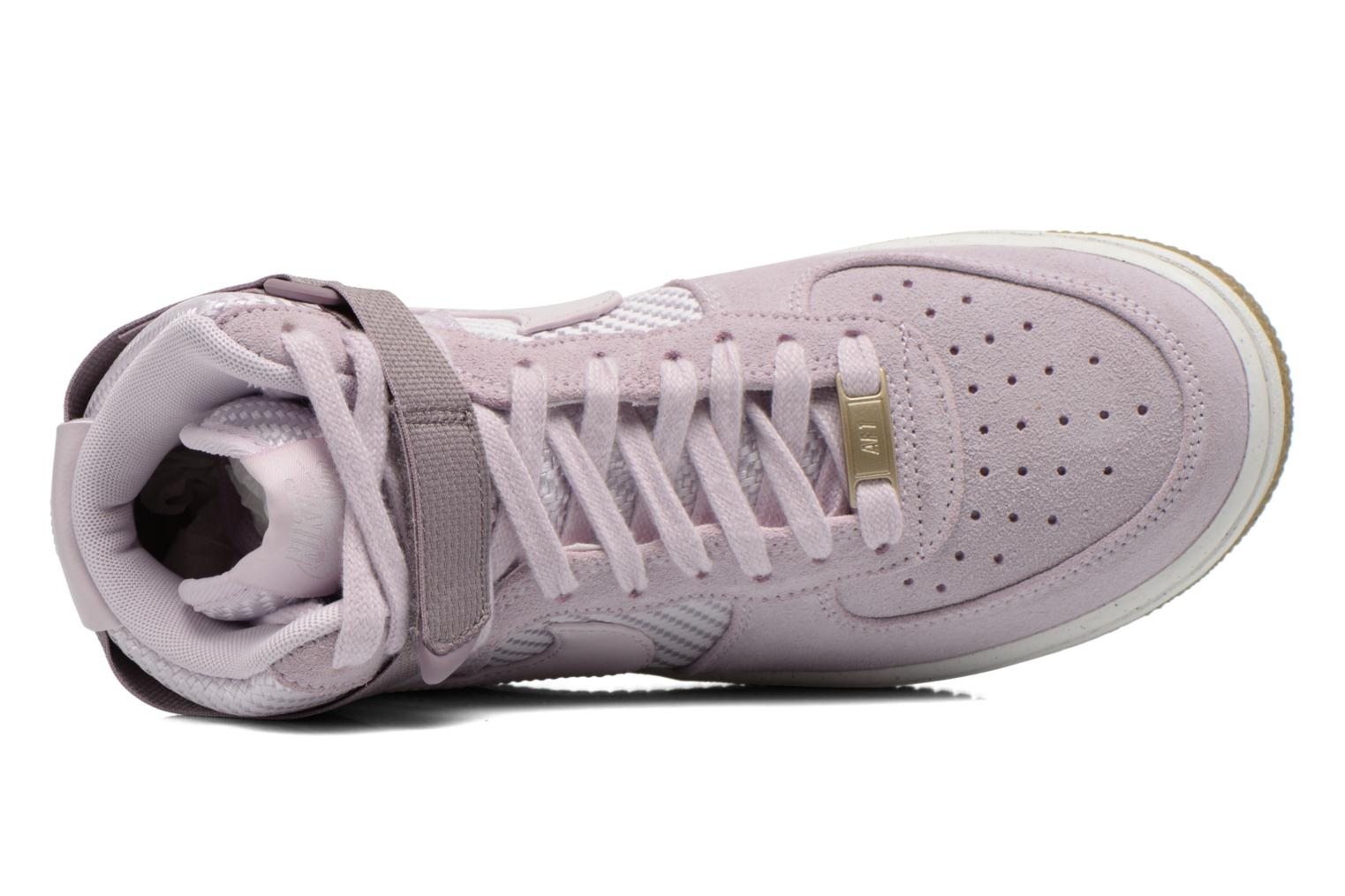 Baskets Nike Wmns Air Force 1 Hi Prm Violet vue gauche