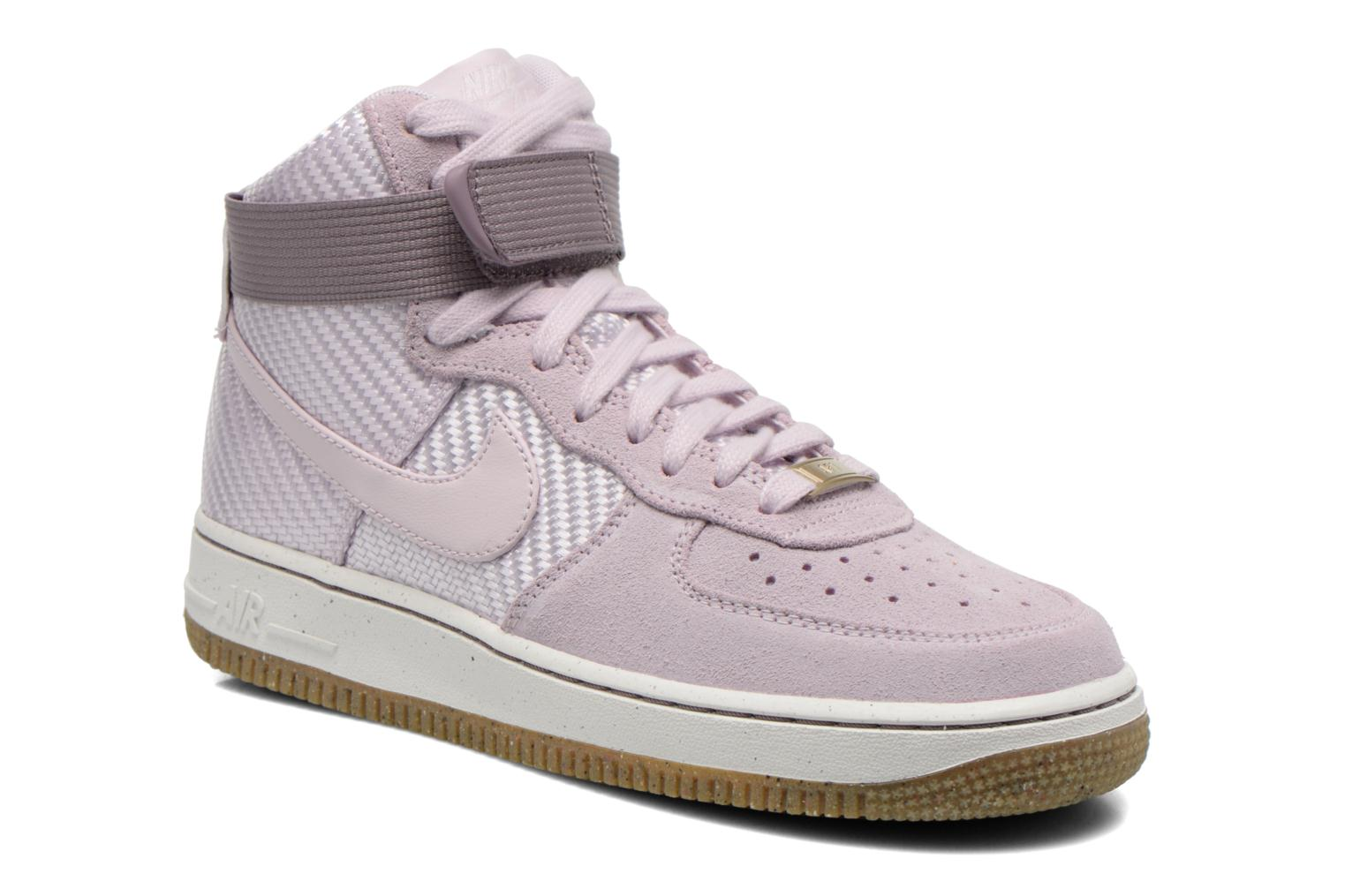 Baskets Nike Wmns Air Force 1 Hi Prm Violet vue détail/paire