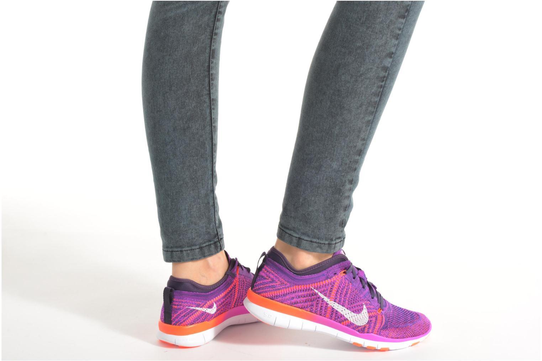 Wmns Nike Free Tr Flyknit Black/Black-White-Volt