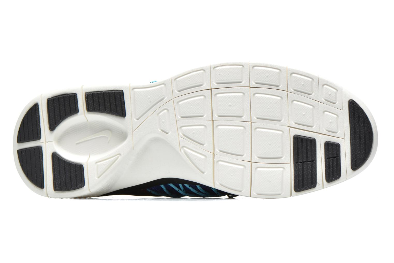 Baskets Nike Wmns Nike Free Viritous Bleu vue haut