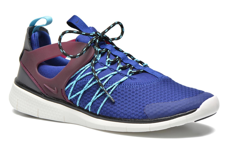 Baskets Nike Wmns Nike Free Viritous Bleu vue détail/paire
