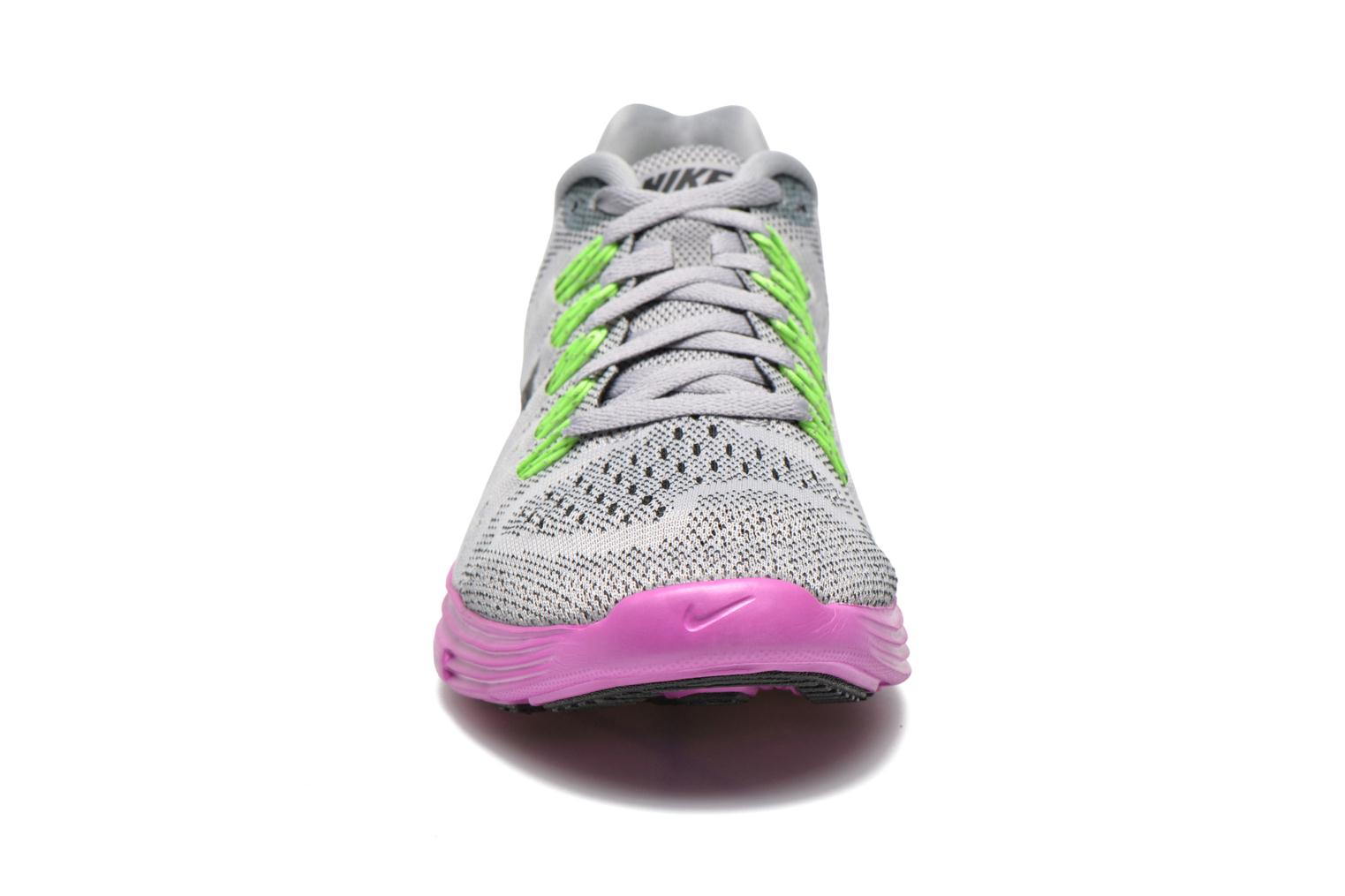 Wmns Nike Lunartempo Wolf Grey/Black-Fuchsia Flash
