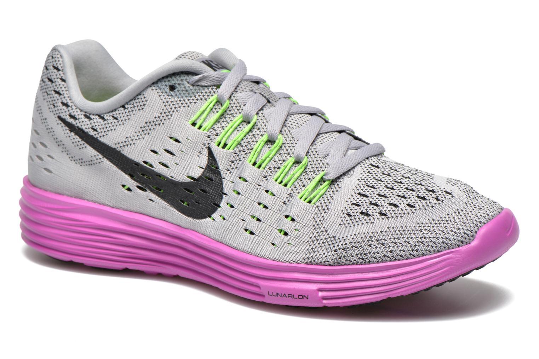 Wmns Nike Lunartempo Wolf Grey/Black-Fuchsia Flash
