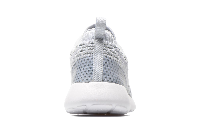 Sneaker Nike Wmns Roshe One Flyknit grau ansicht von rechts