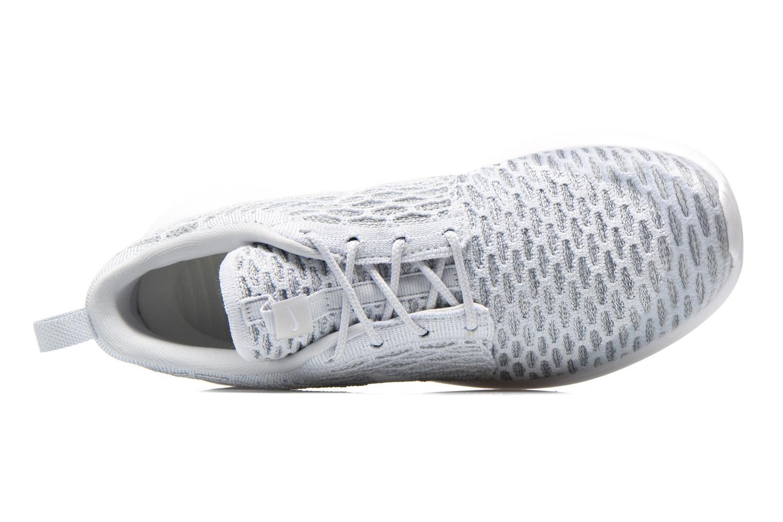 Baskets Nike Wmns Roshe One Flyknit Gris vue gauche