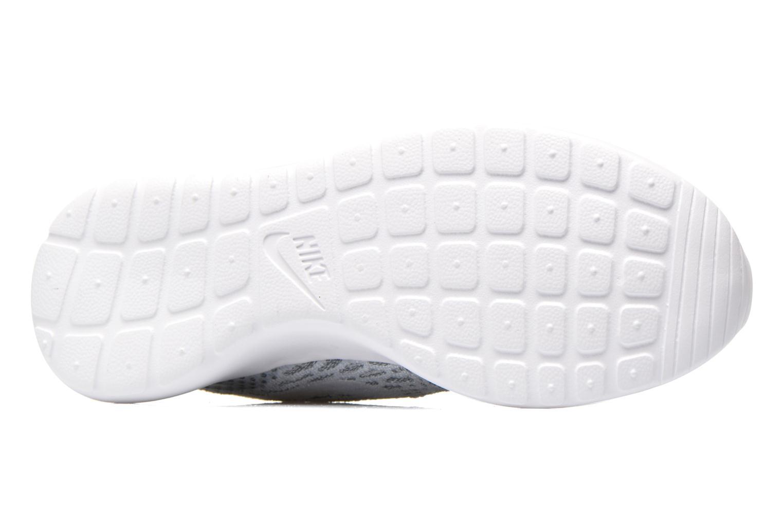 Sneaker Nike Wmns Roshe One Flyknit grau ansicht von oben