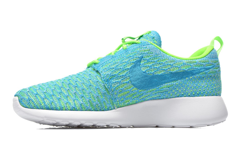 Baskets Nike Wmns Roshe One Flyknit Vert vue face