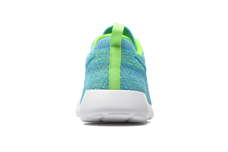 Baskets Nike Wmns Roshe One Flyknit Vert vue droite
