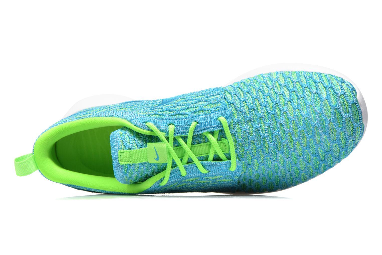 Baskets Nike Wmns Roshe One Flyknit Vert vue gauche