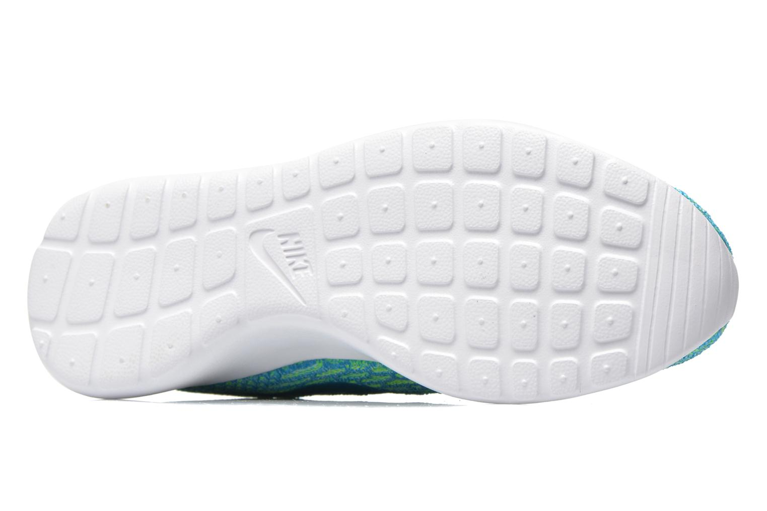 Wmns Roshe One Flyknit Electric Green/Bl Lgn-Glcr Ic