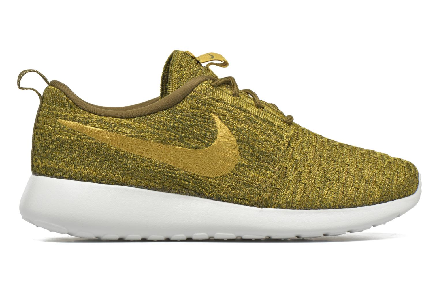 Wmns Roshe One Flyknit Olive Flak/Gold Lead-Sequoia-Sail
