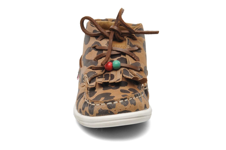 Chaussures à lacets Dolfie Landom Hi Baby Marron vue portées chaussures