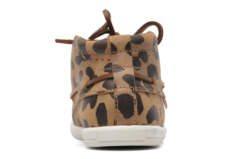 Chaussures à lacets Dolfie Landom Hi Baby Marron vue droite