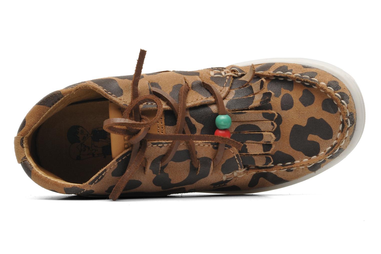 Chaussures à lacets Dolfie Landom Hi Baby Marron vue gauche