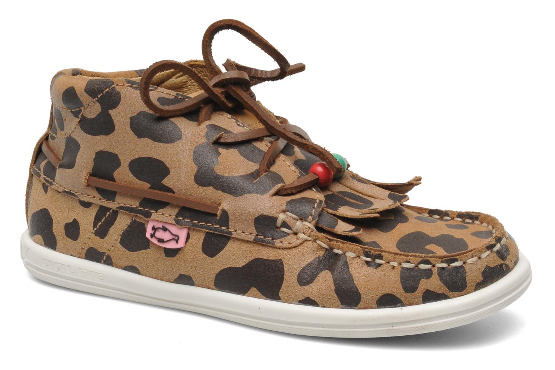 Chaussures à lacets Dolfie Landom Hi Baby Marron vue détail/paire